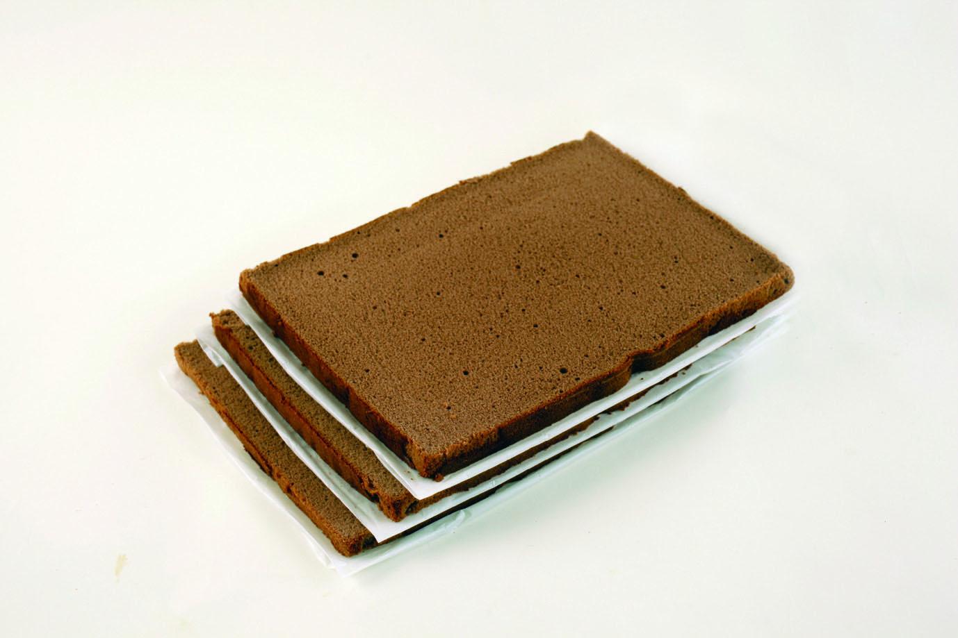 スポンジシートチョコレート