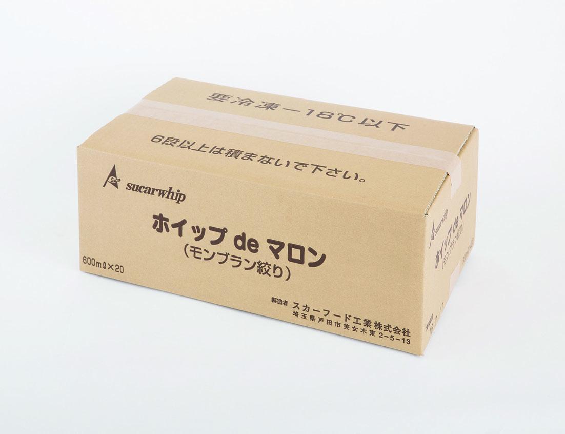 ホイップdeマロン             (モンブラン絞り用)